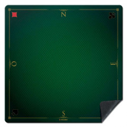Tapis de cartes prestige vert