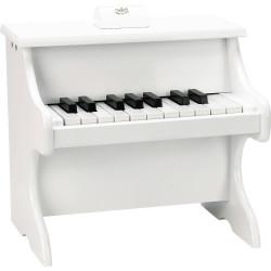 Piano Blanc en bois 18...
