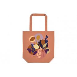 Sac Shopper coton bio Fleurs