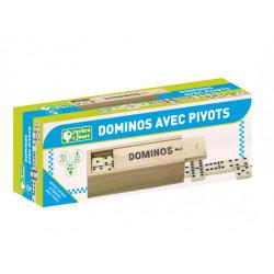 Dominos avec pivots - Jeujura