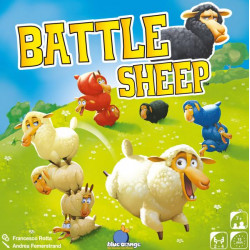 Battle Sheep - Blue orange