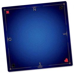Tapis de cartes prestige bleu