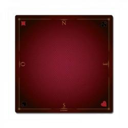 Tapis de cartes prestige Rouge