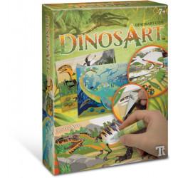 Tableaux a Texturer Dinosart
