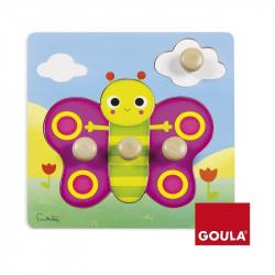 Puzzle boutons - Papillon