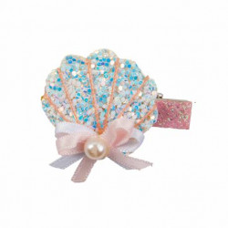 Barrettes - Sparkle Shell