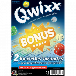 Qwixx - Bloc de score bonus