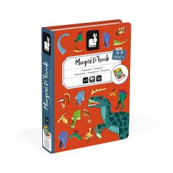 Magnéti book Dinosaures