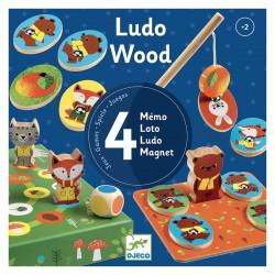 Jeu éducatif bois - Ludo Wood