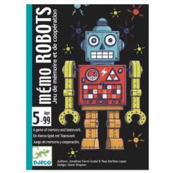 Jeu de cartes - Mémo robots