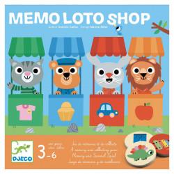 Jeu - Mémo loto shop