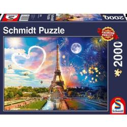 Puzzle 2000 pcs - Paris...