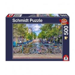 Puzzle 500 pcs - Amsterdam