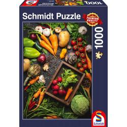 Puzzle 1000 pcs - SuperFood