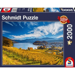 Puzzle 2000 pcs - Vignobles