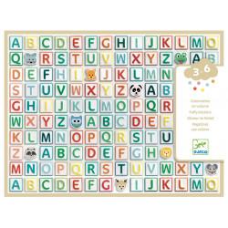 Gommettes volume - Alphabet