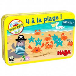 4 a la Plage - Jeu de Voyage