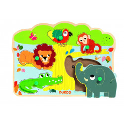 PUZZLE SONORE BAOBAB