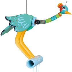 Oiseau perchoir - Grue verte
