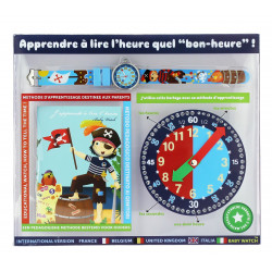 Montre pedagogique Pirate