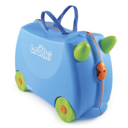 Valise à roulettes - Trunki Ride-on Bleu