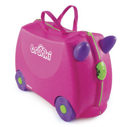 Valise à roulettes - Trunki Ride-on Rose