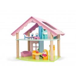 Maison de poupee - Mia avec poupées
