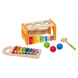 Xylophone banc a taper
