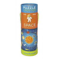 Puzzle poster 200 pcs - Espace
