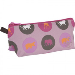 Trousse Savannah rose